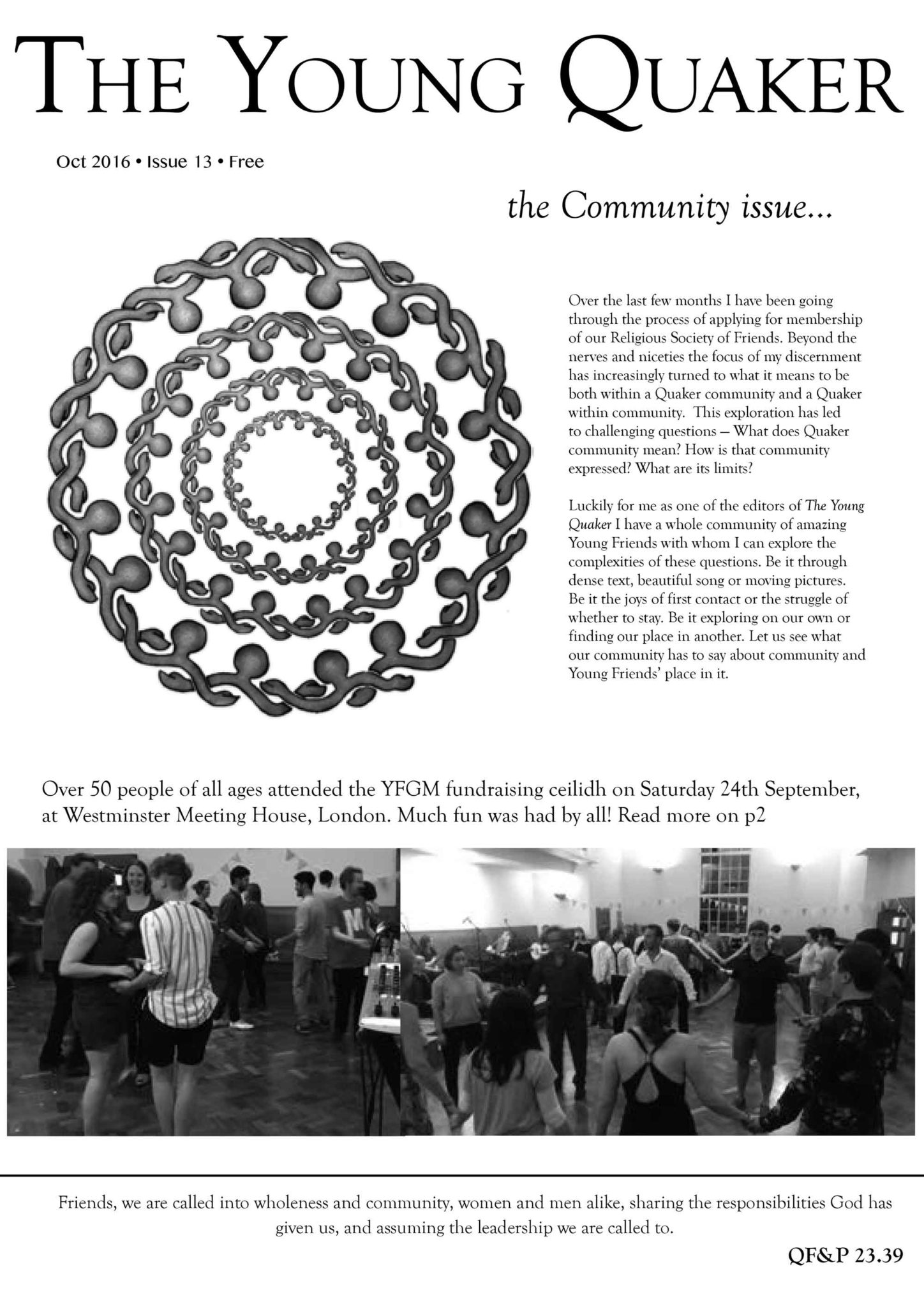 Issue 17: October 2016 – The Community Issue